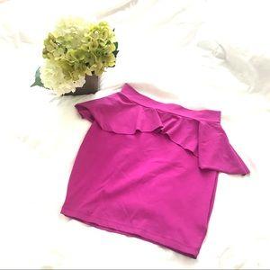 Bebe peplum stretchy skirt